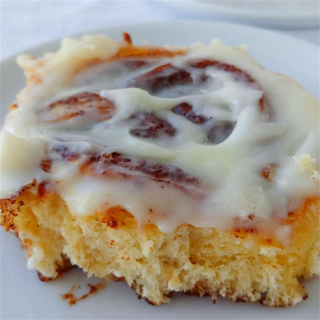 Tender, soft Cinnamon Rolls that can be made in advance!