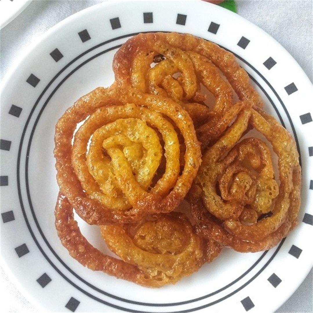 Whole Wheat Jalebi