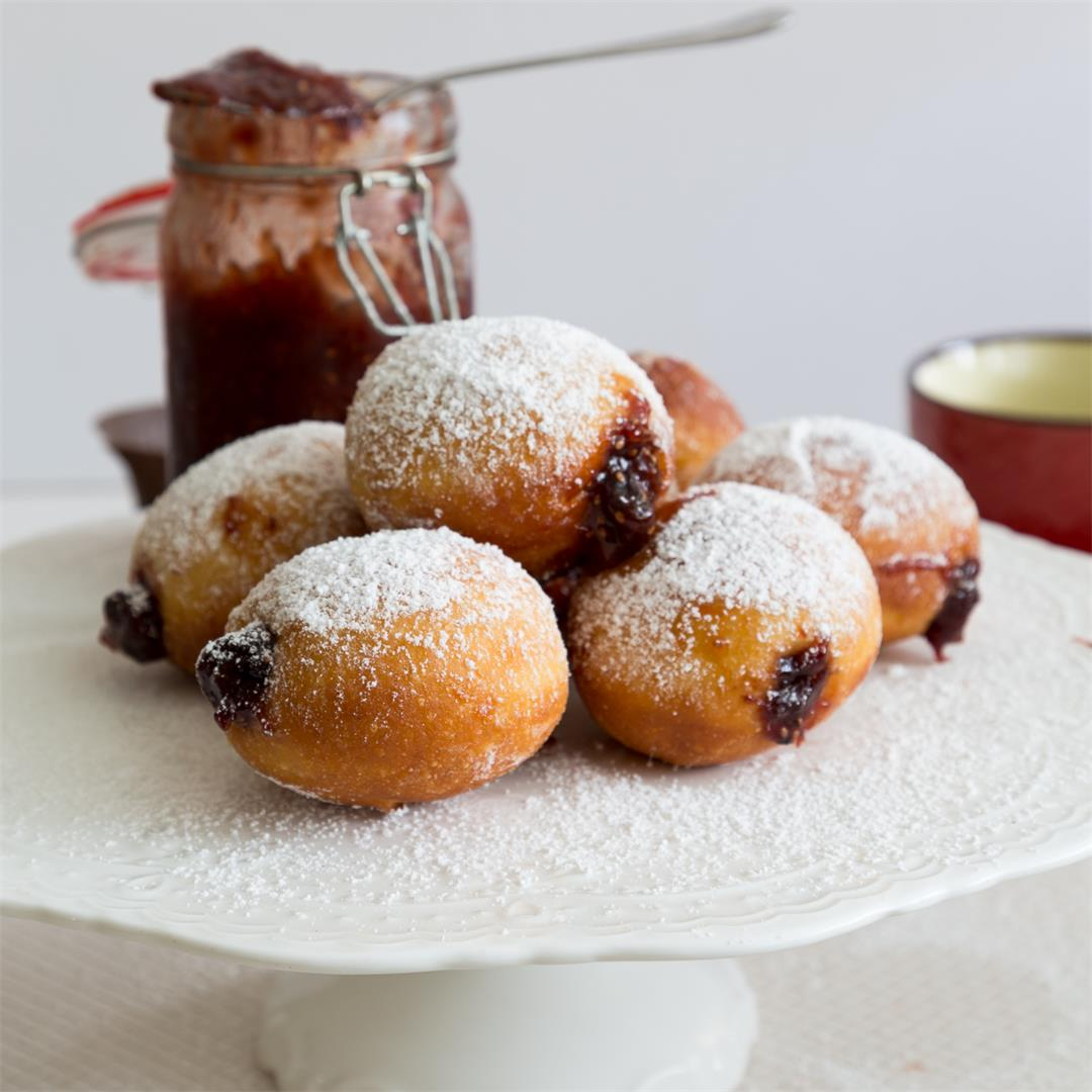 Classic Jelly Donuts