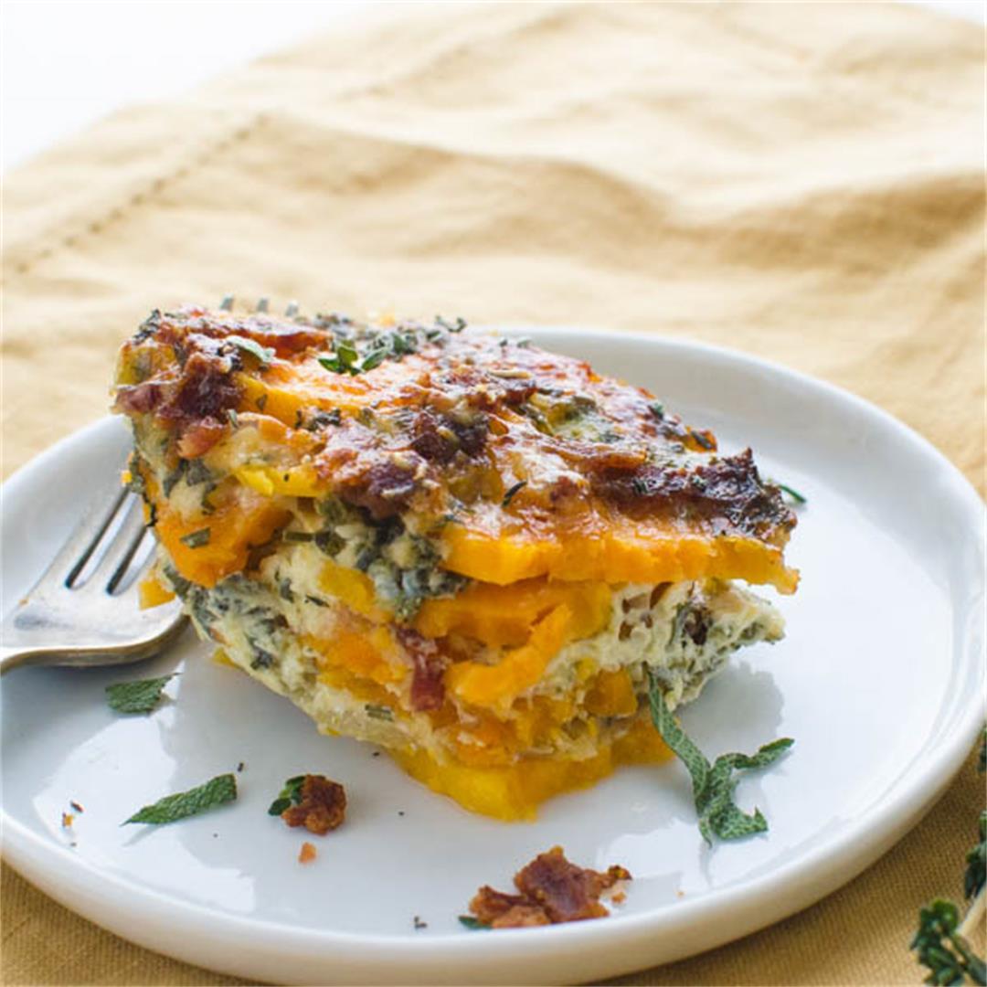 Savory Sweet Potato Casserole