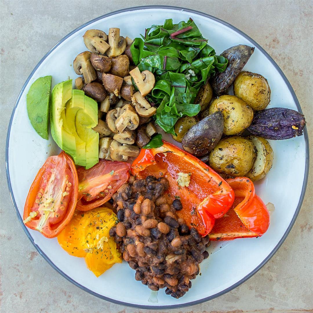 Ultimate Vegan Breakfast (gf)