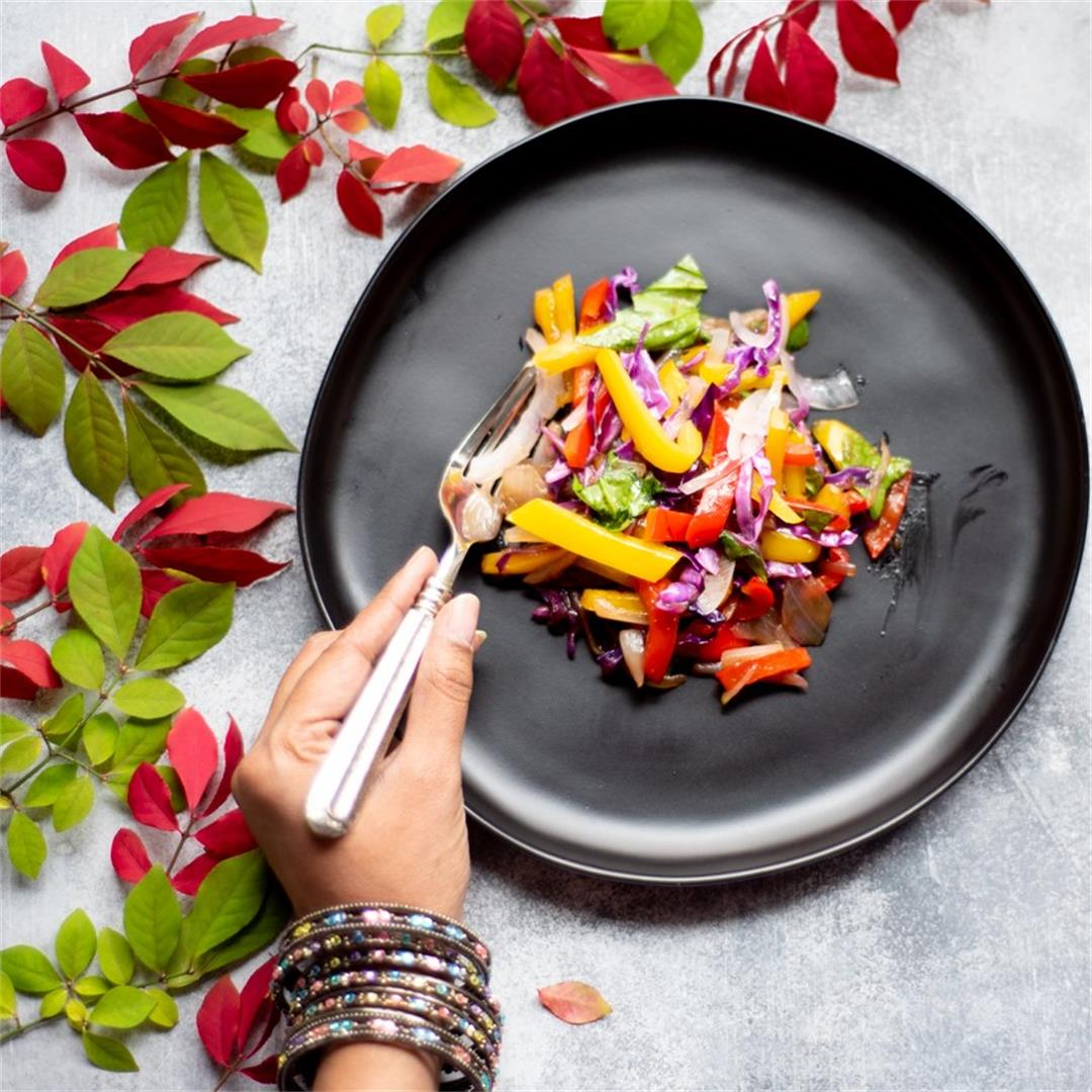 Colorful Vegetable Stir Fry