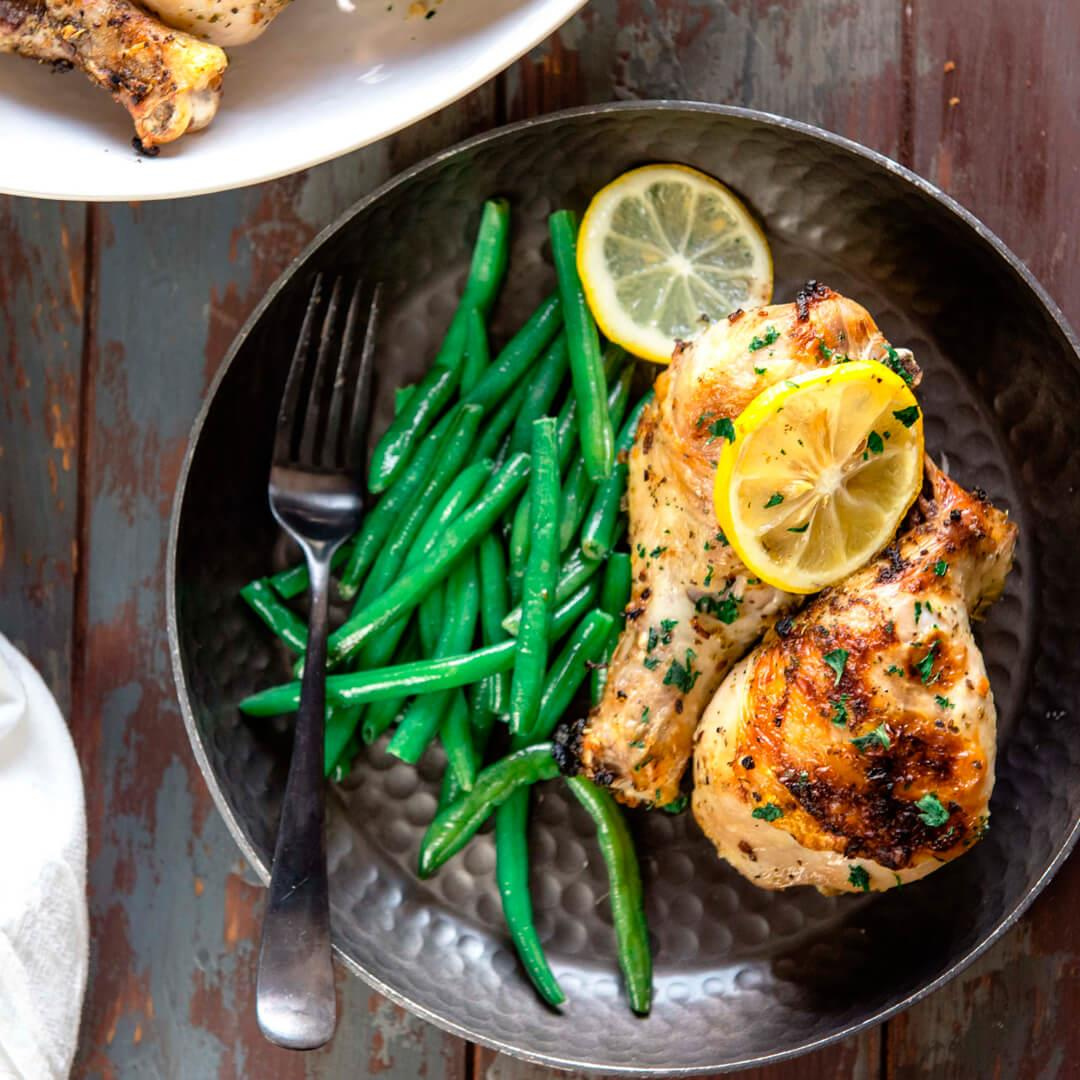 30-Minute Herb Roasted Chicken Drumsticks