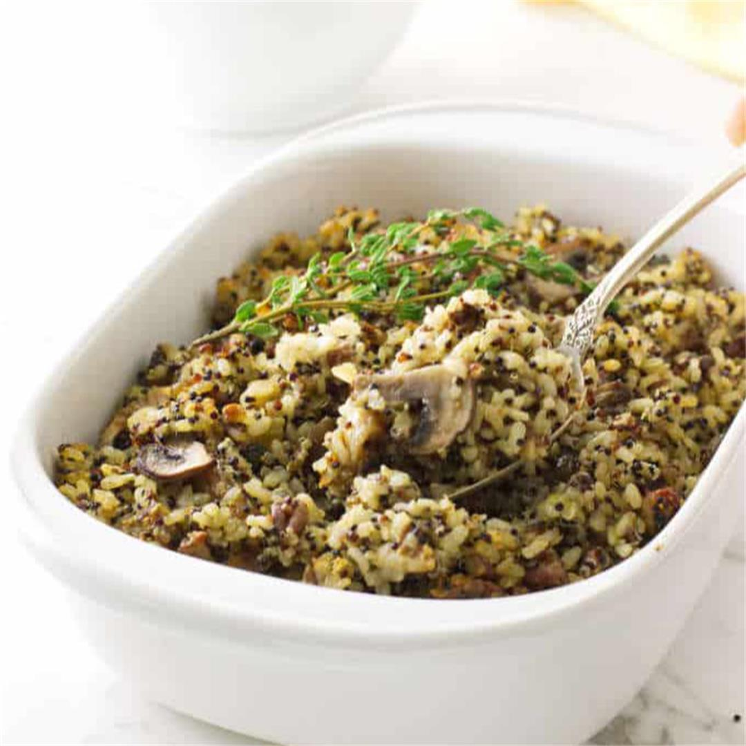rice and quinoa stuffing