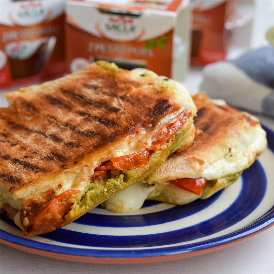 Coffee Shop Copycat Caprese Cheese Toastie