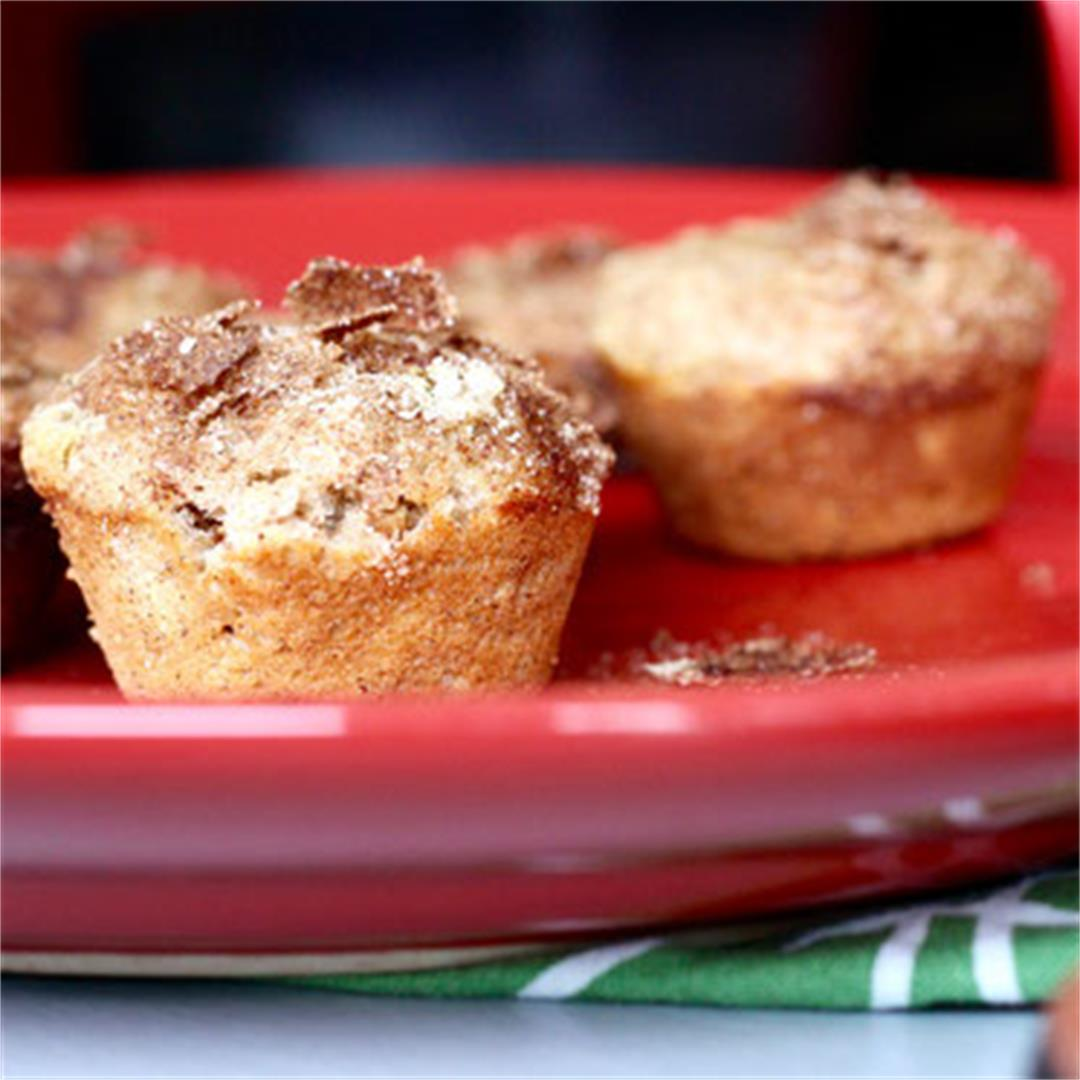 Healthy Cinnamon Spice Muffins