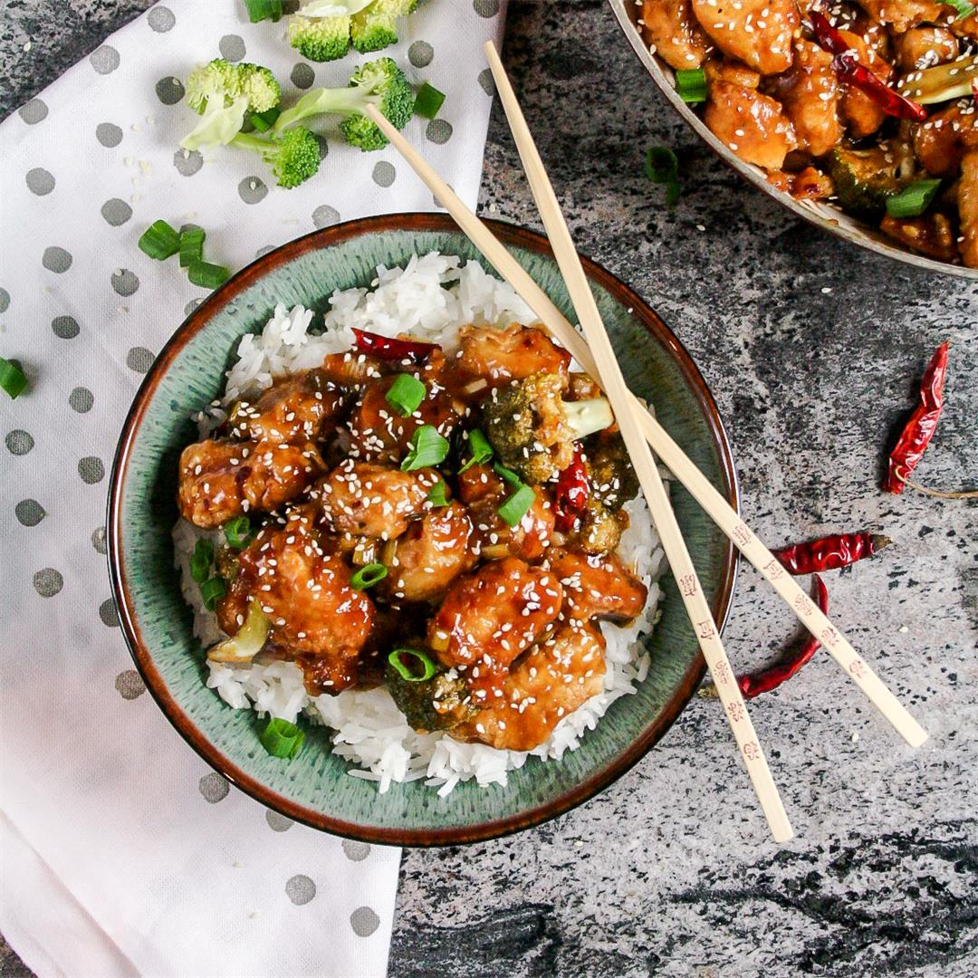 Classic General Tso Chicken