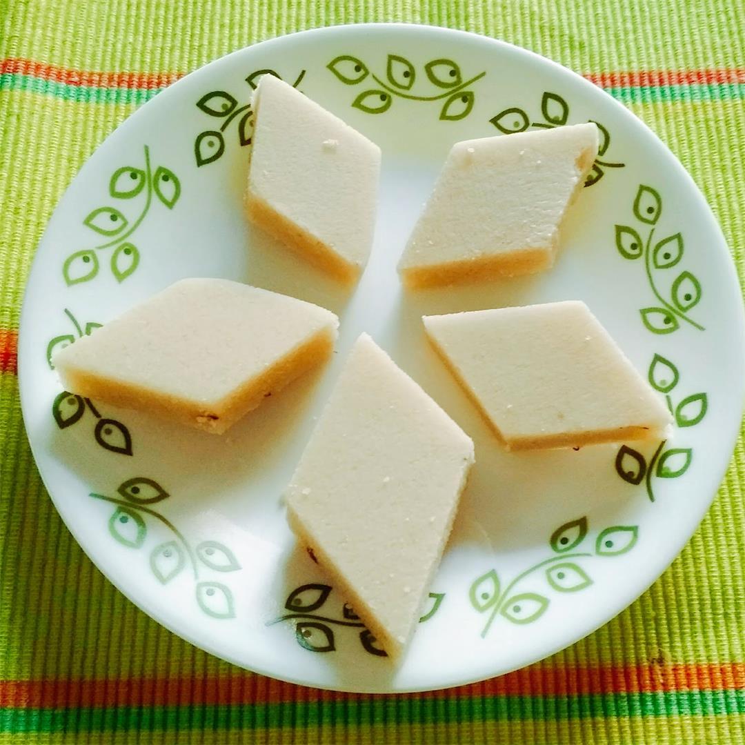 Badam Katli- Indian Sweet
