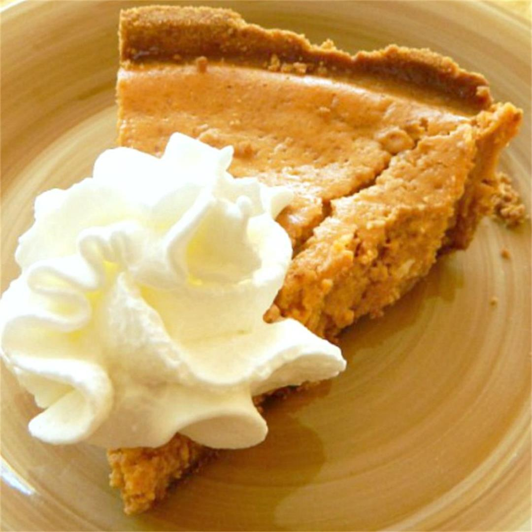 Not Too Sweet Guilt Free Sweet Potato Pie