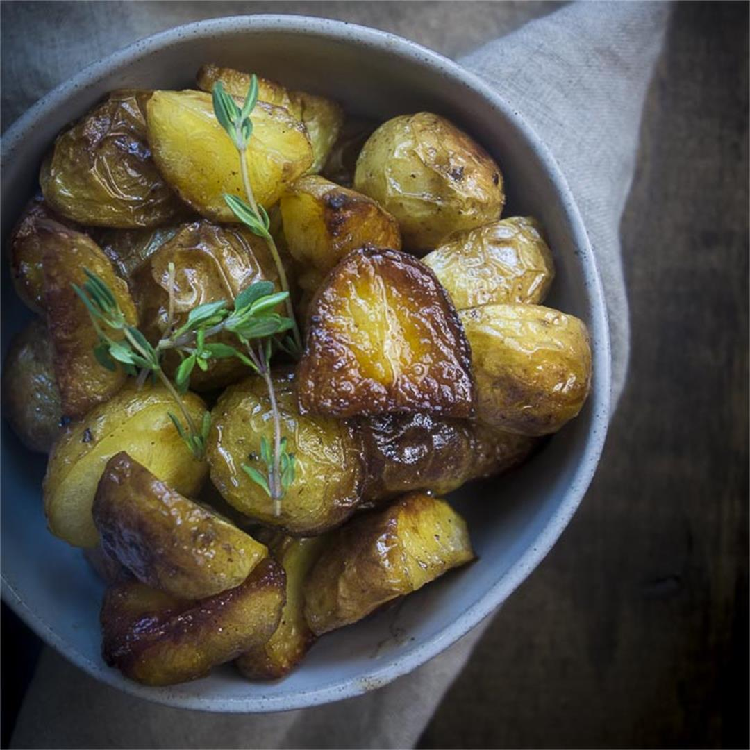 Perfect Crispy Roasted Potatoes