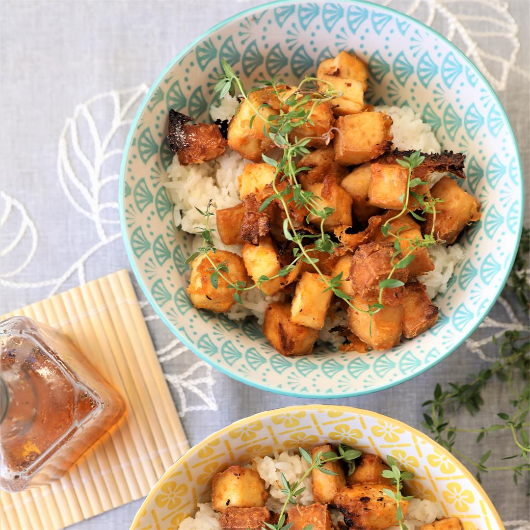 Crispy Pineapple Tofu