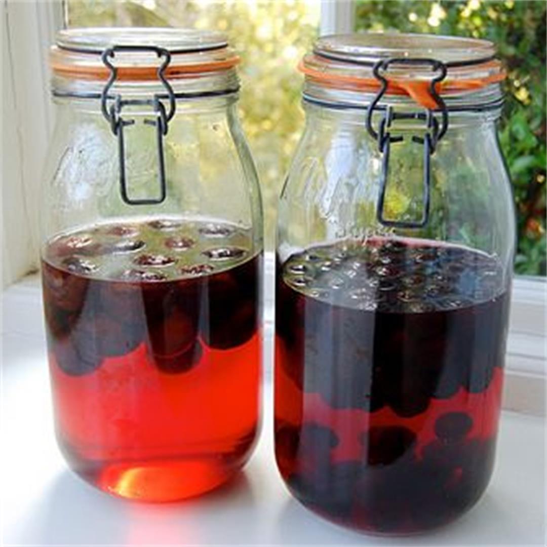 How To Make Damson & Sloe Gin