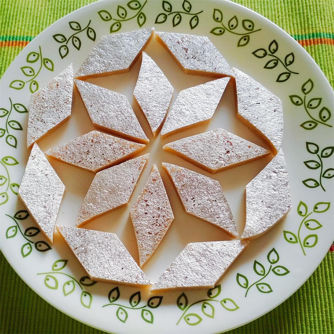 Kaju Katli- Indian Sweet