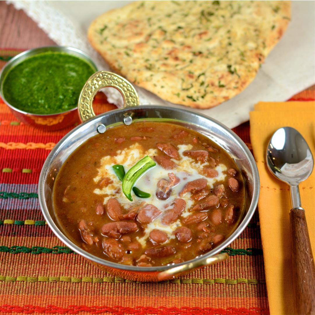 Red Beans cooked in the Instant Pot with flavorful spices