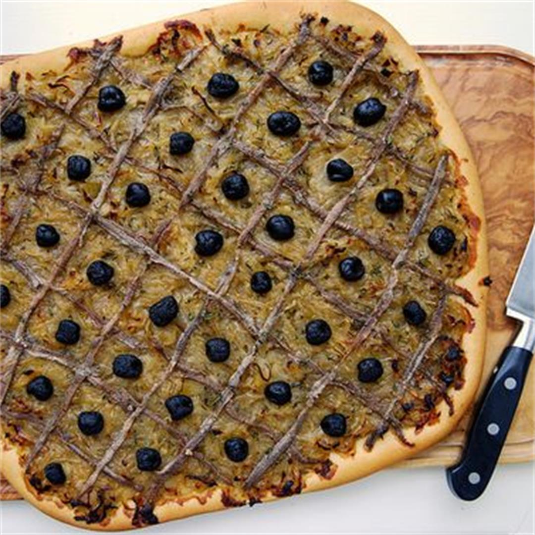 A Traditional French Pissaladière