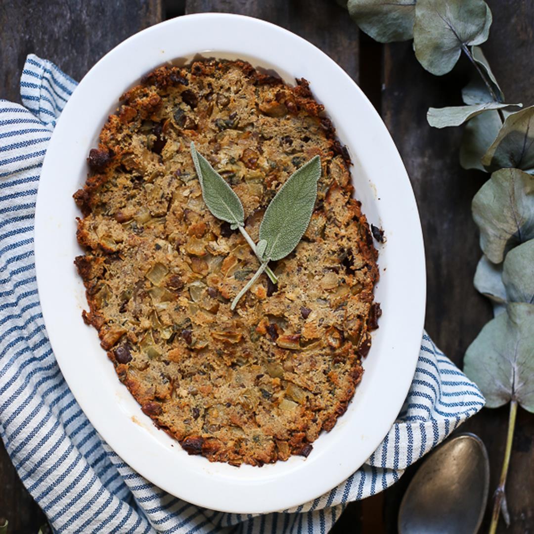 Gluten-Free Sage Chestnut Stuffing