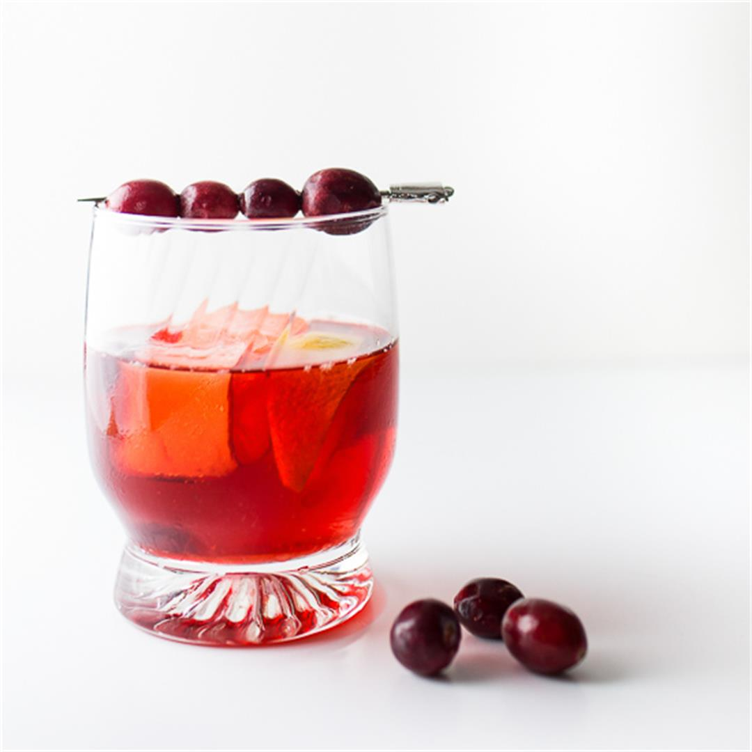 Festive Cranberry Cocktails