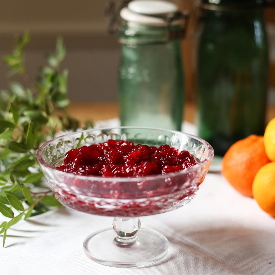 Cranberry Clementine Sauce