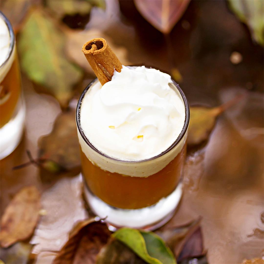 Apple Pie Shot {Fireball Whiskey Recipe}