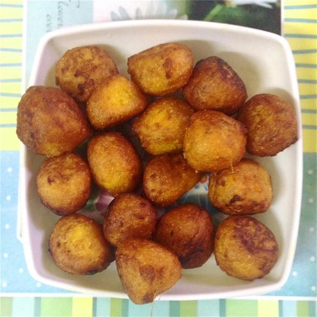 Taler bora, Sweet palm fritters