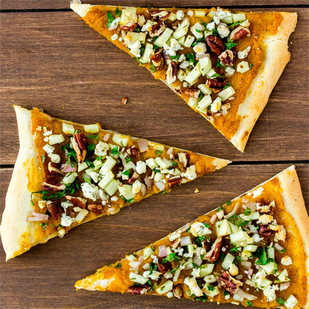 Butternut Squash Apple Flatbread
