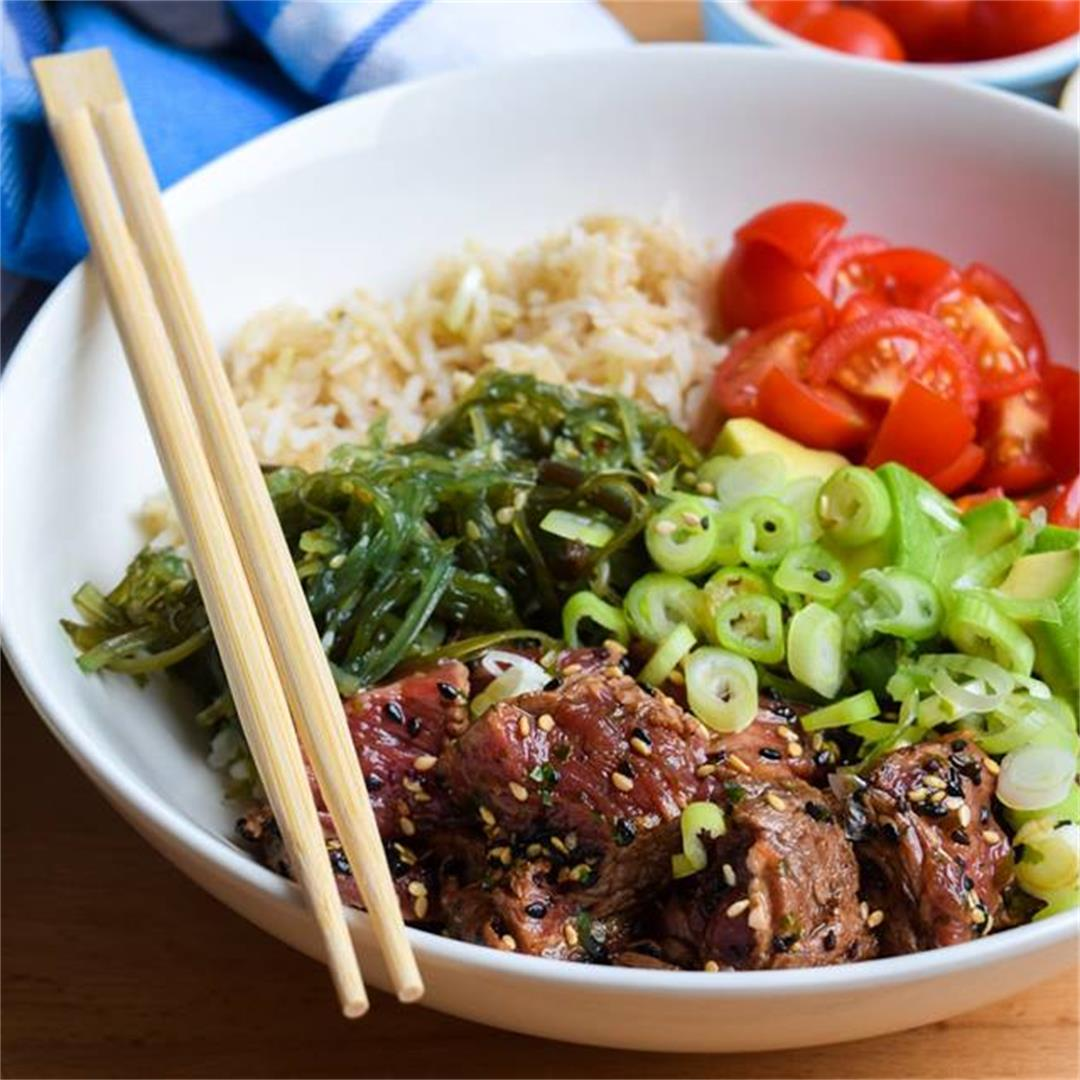How To Make Seared Steak Poké