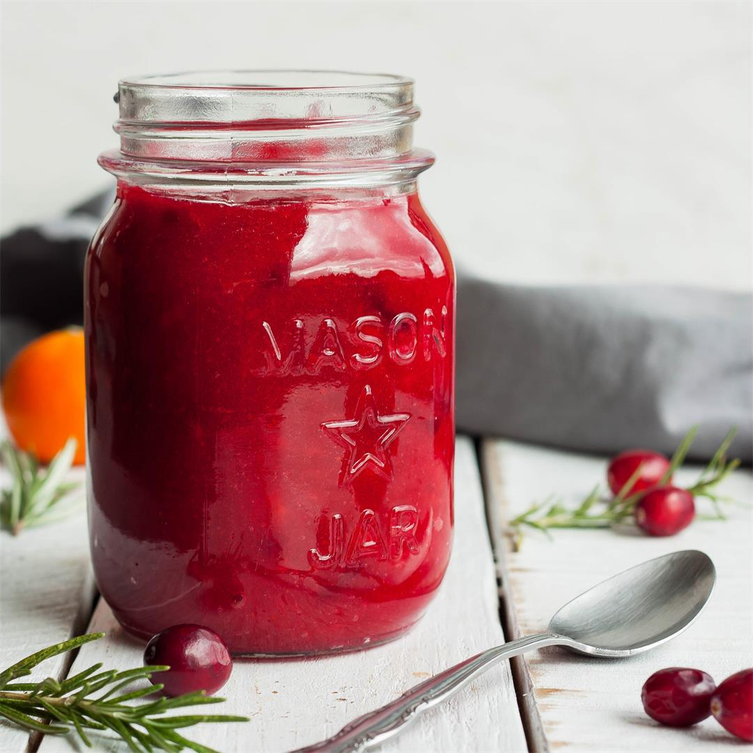 The Best Orange Cranberry Sauce