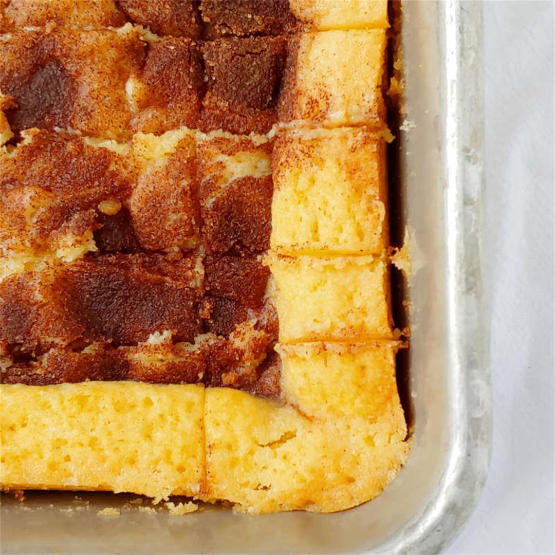 Cinnamon Gooey Butter Cake