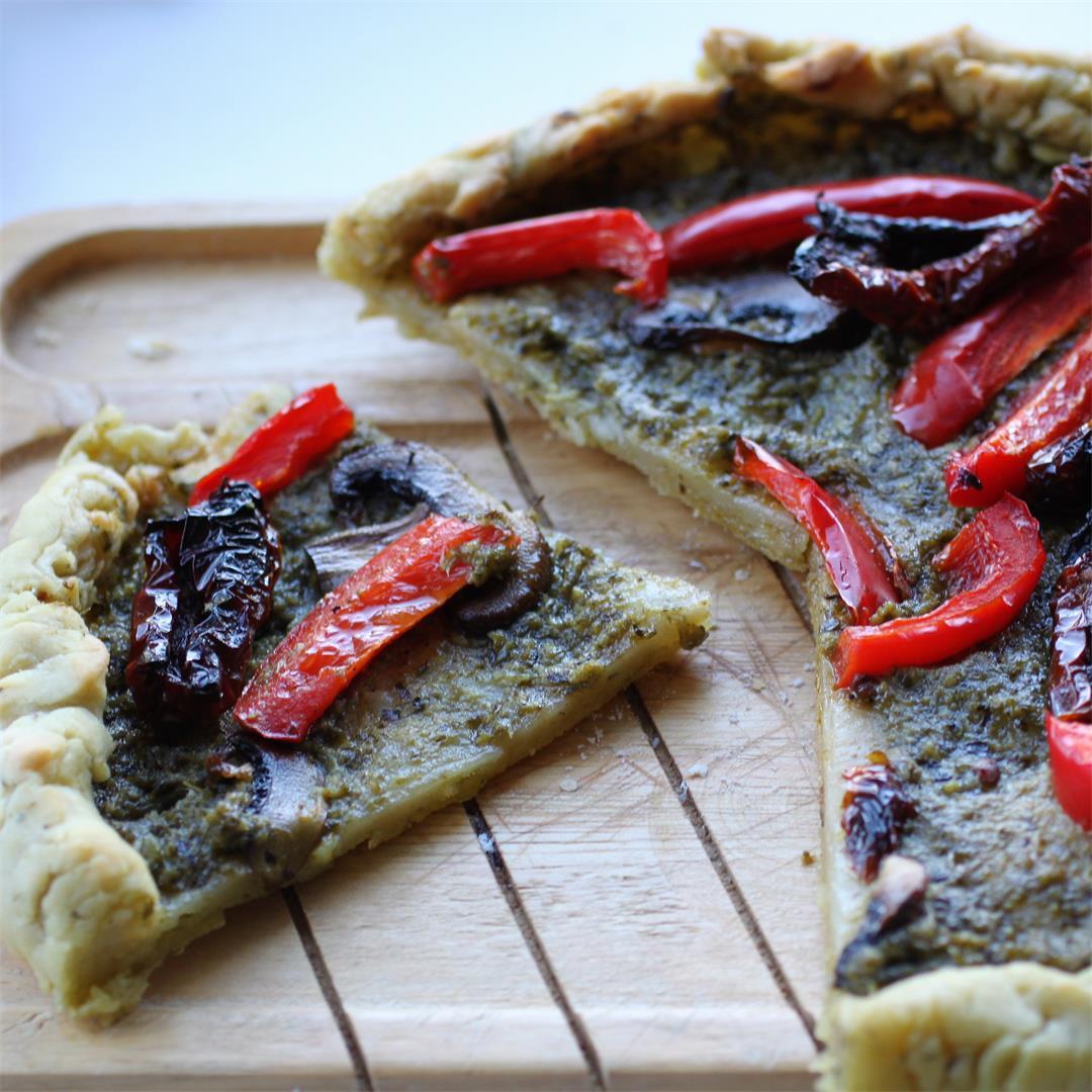 Gluten Free Pizza Tarts (Vegan)