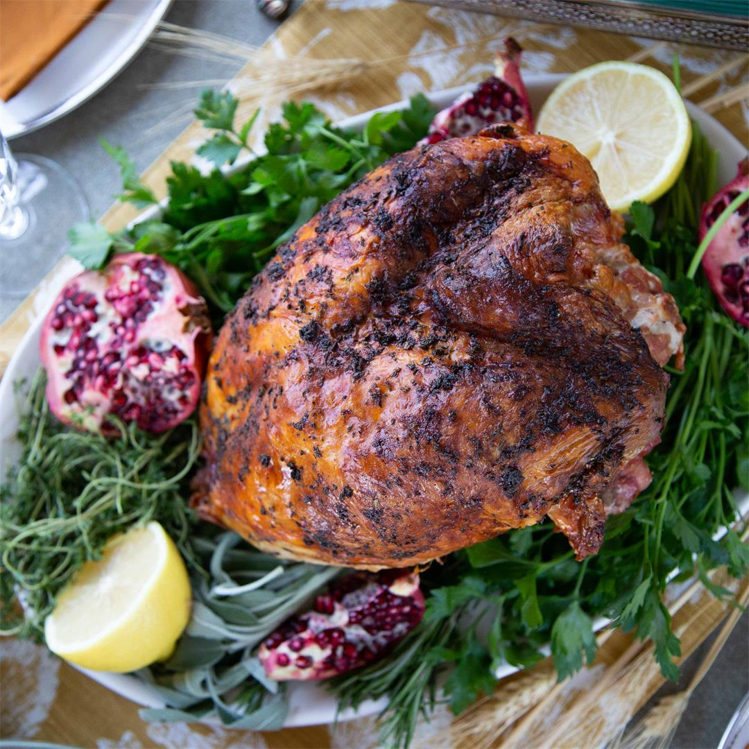 Lemon Herb Roasted Turkey Breast