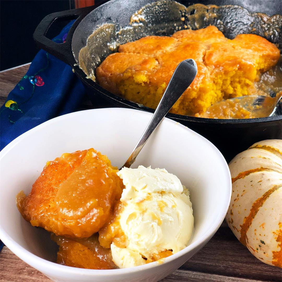Maple Pumpkin Pudding Cake