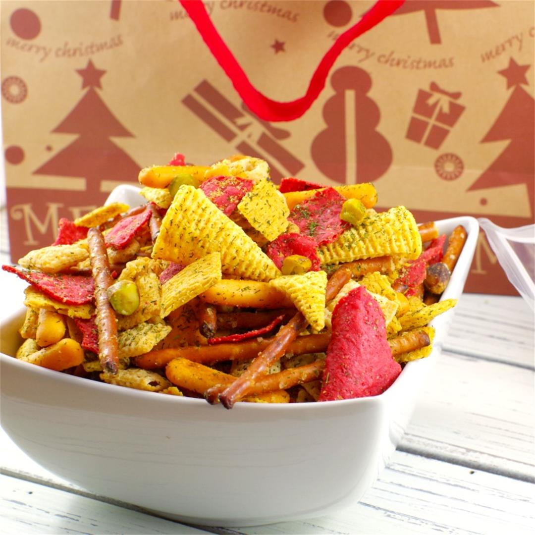 Holiday Chex Mix - A Festive Snack Mix