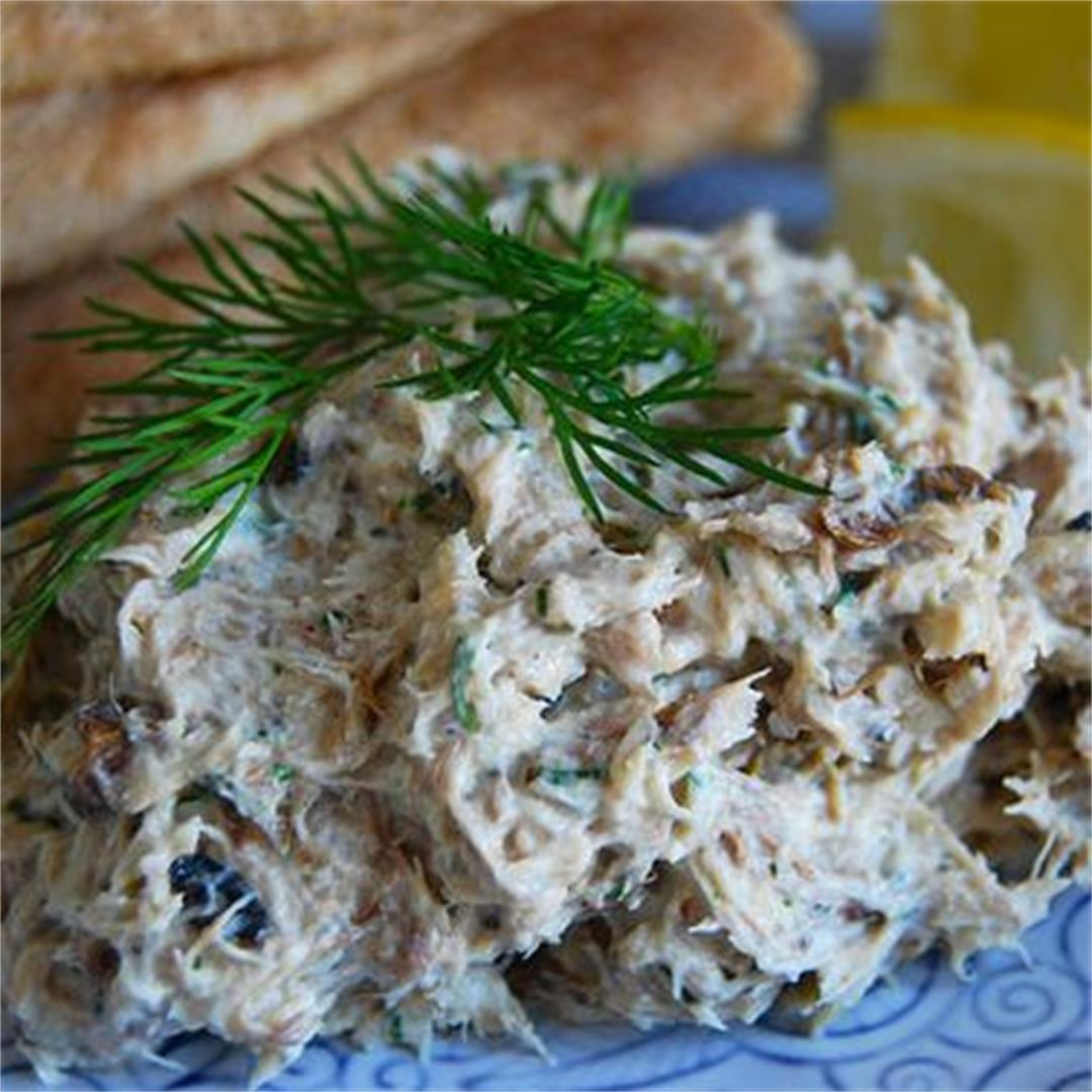 5 Minute Skinny Smoked Mackerel Pâté