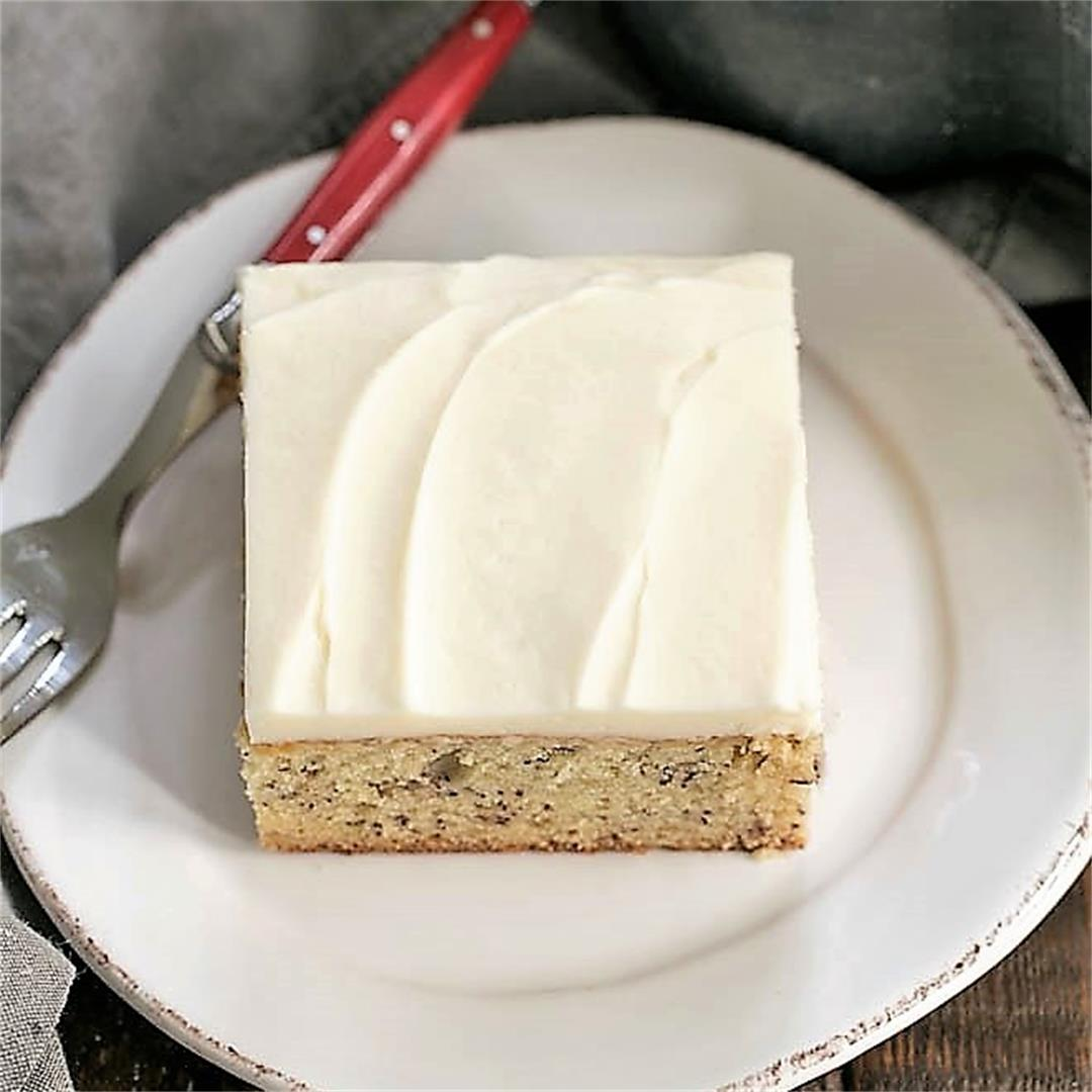 Southern Banana Cake with Cream Cheese Frosting