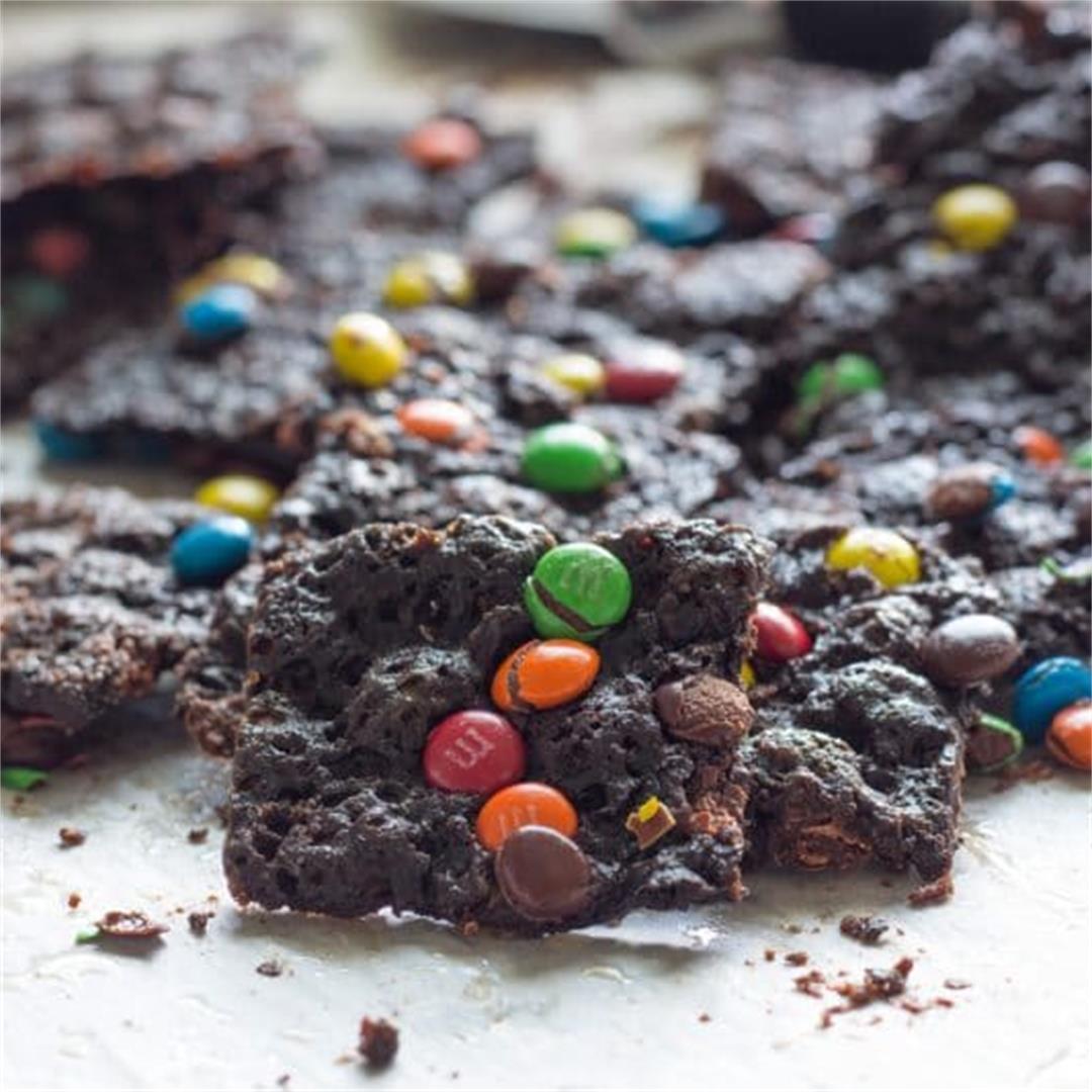 Thin & Crispy Brownie Brittle