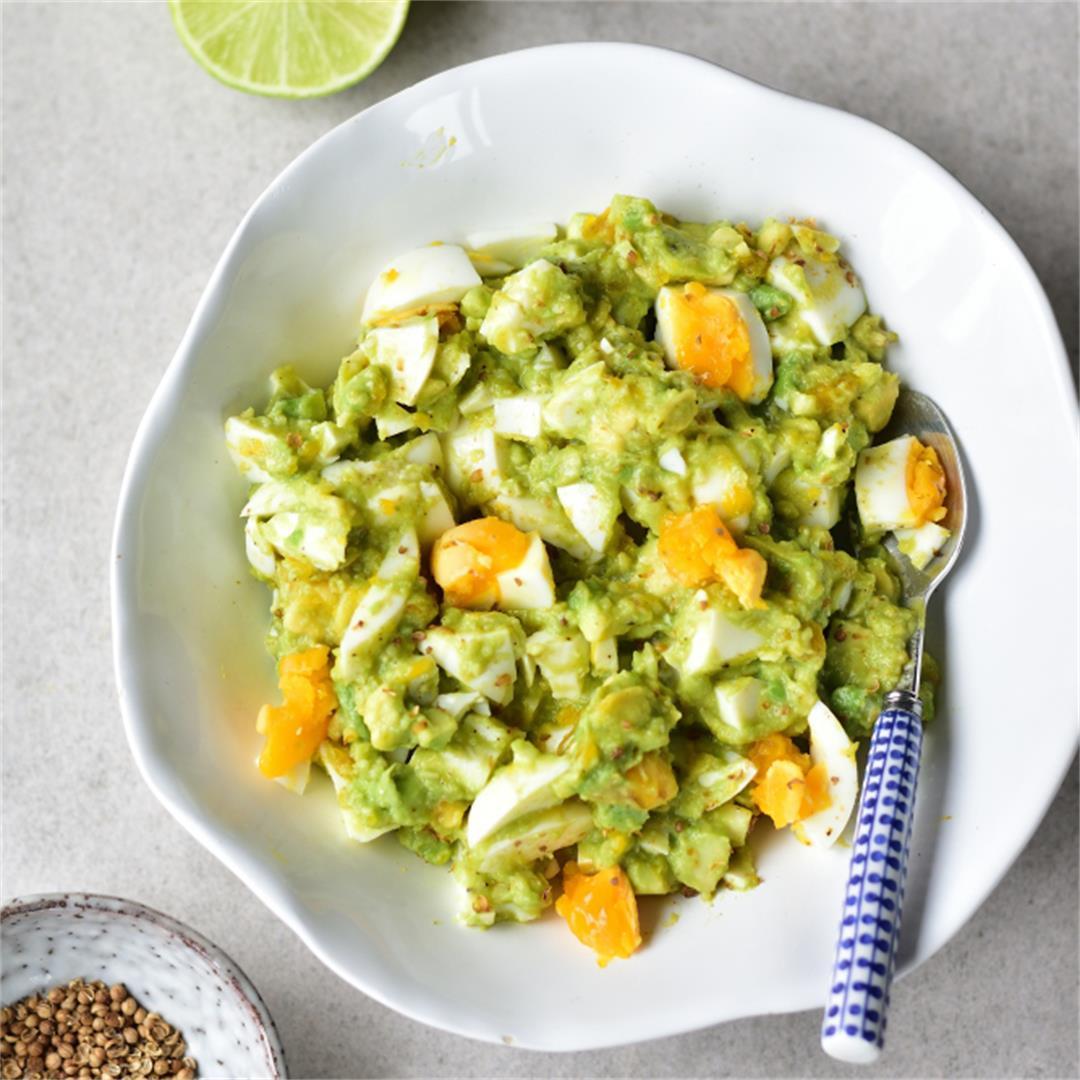 Avocado Egg Salad Recipe – light and refreshing
