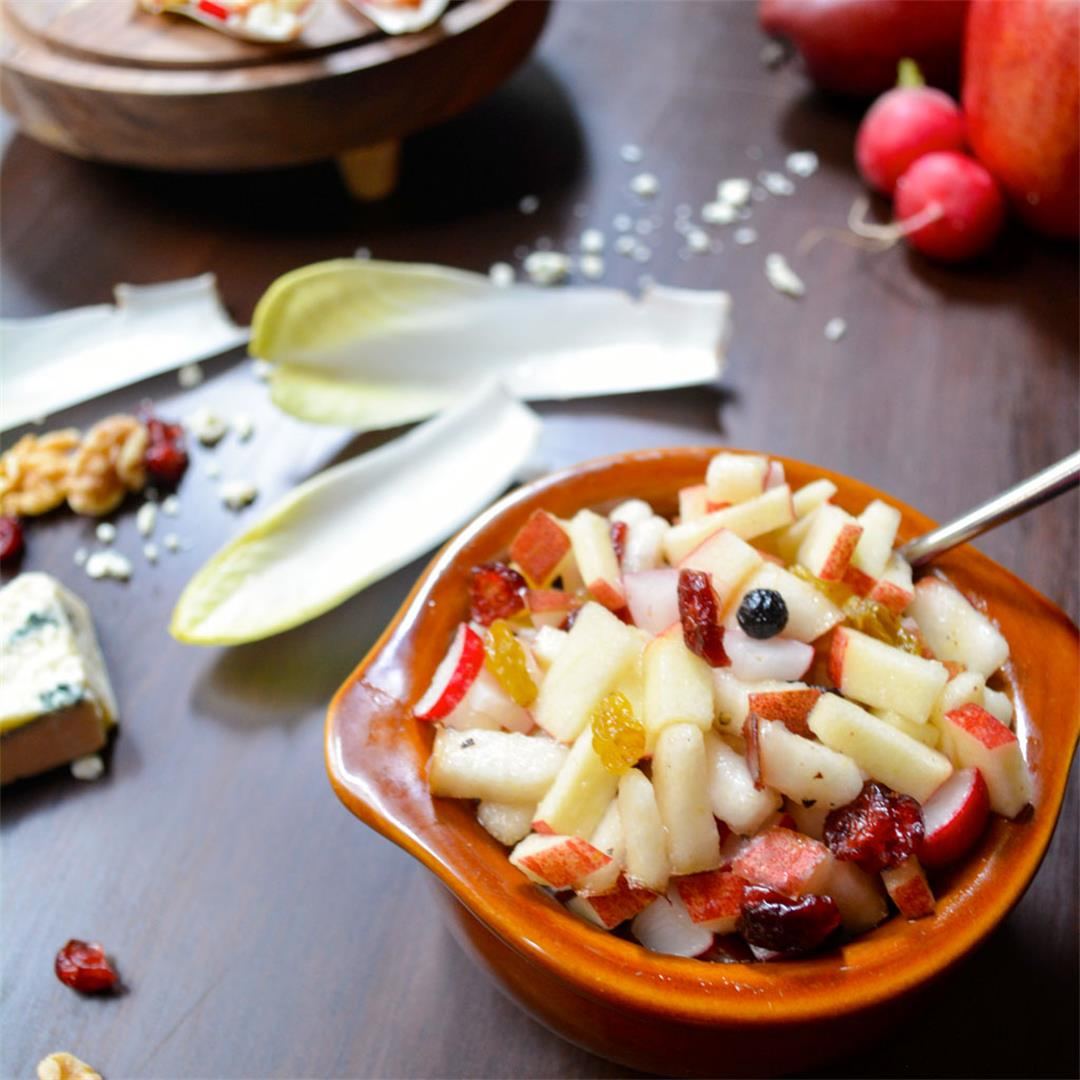 Winter Endive Boats with Honeycrisp Apples