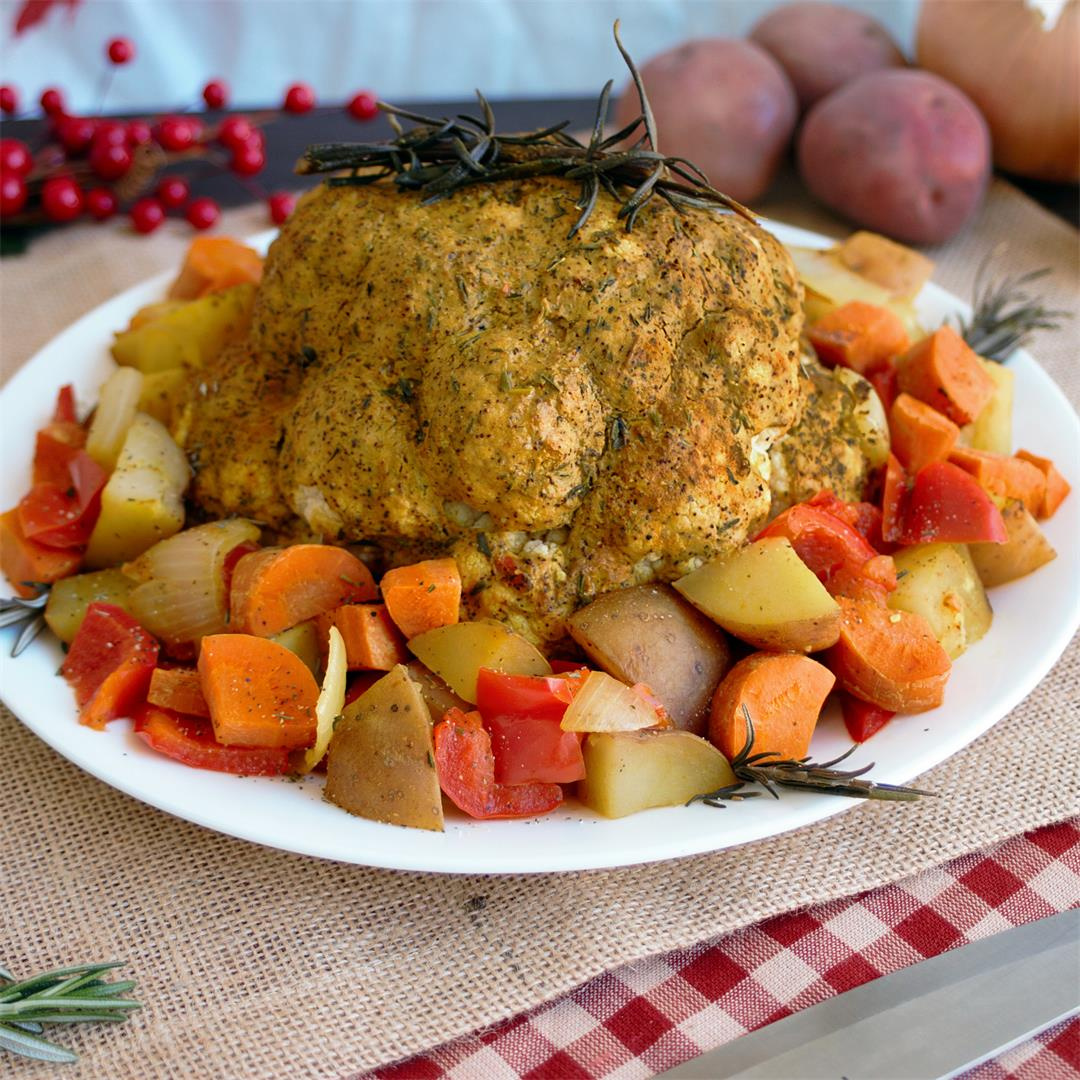 Looking for an easy meat alternative for the holidays? This ove
