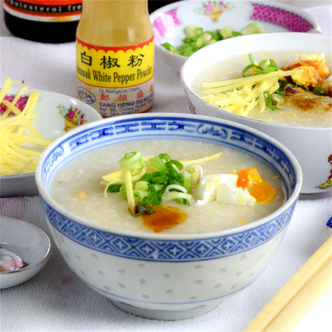Cantonese rice porridge