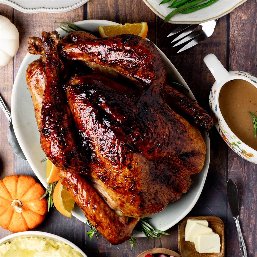 Orange and Honey Roasted Turkey