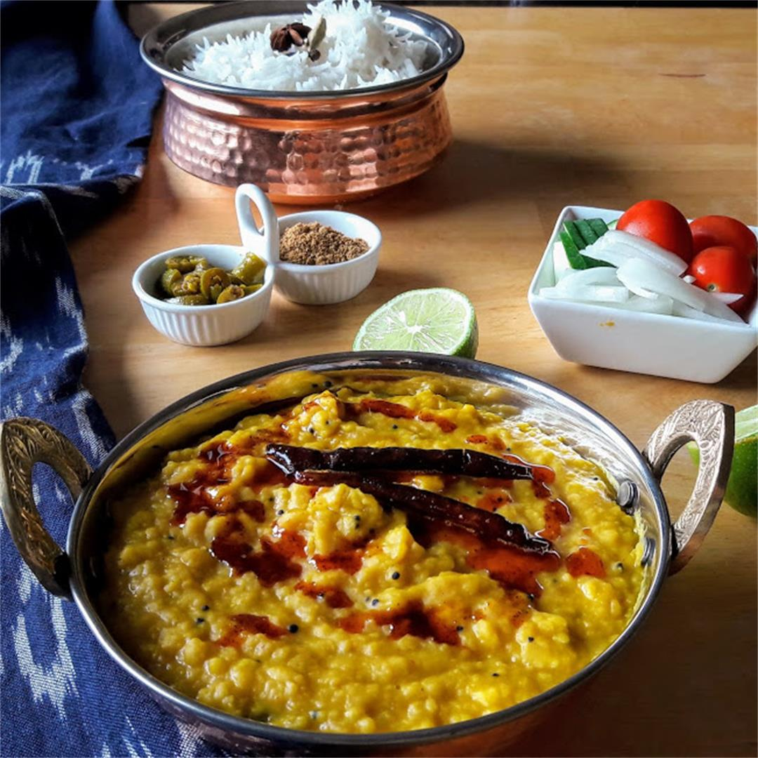 Dal Tadka-Spicy Indian Lentils