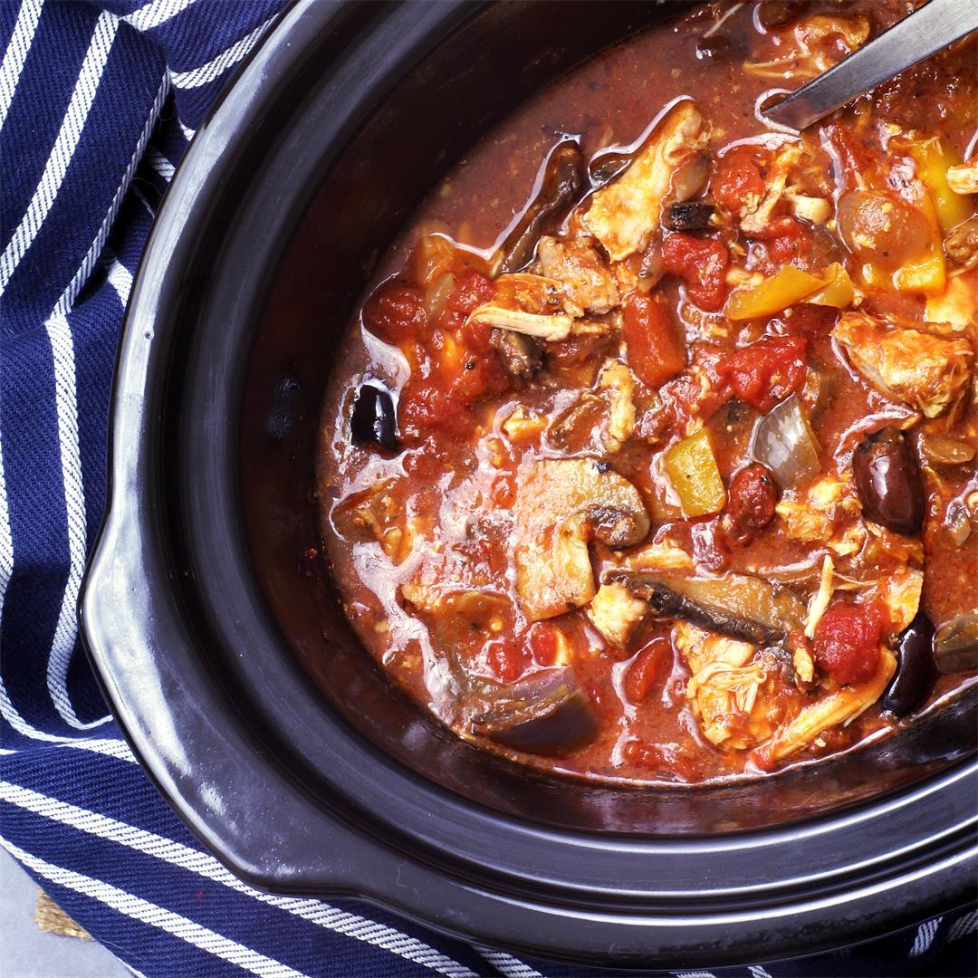 Slow Cooker Chicken Italian