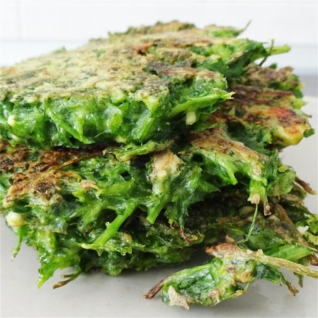 Simple Parsley Fritters