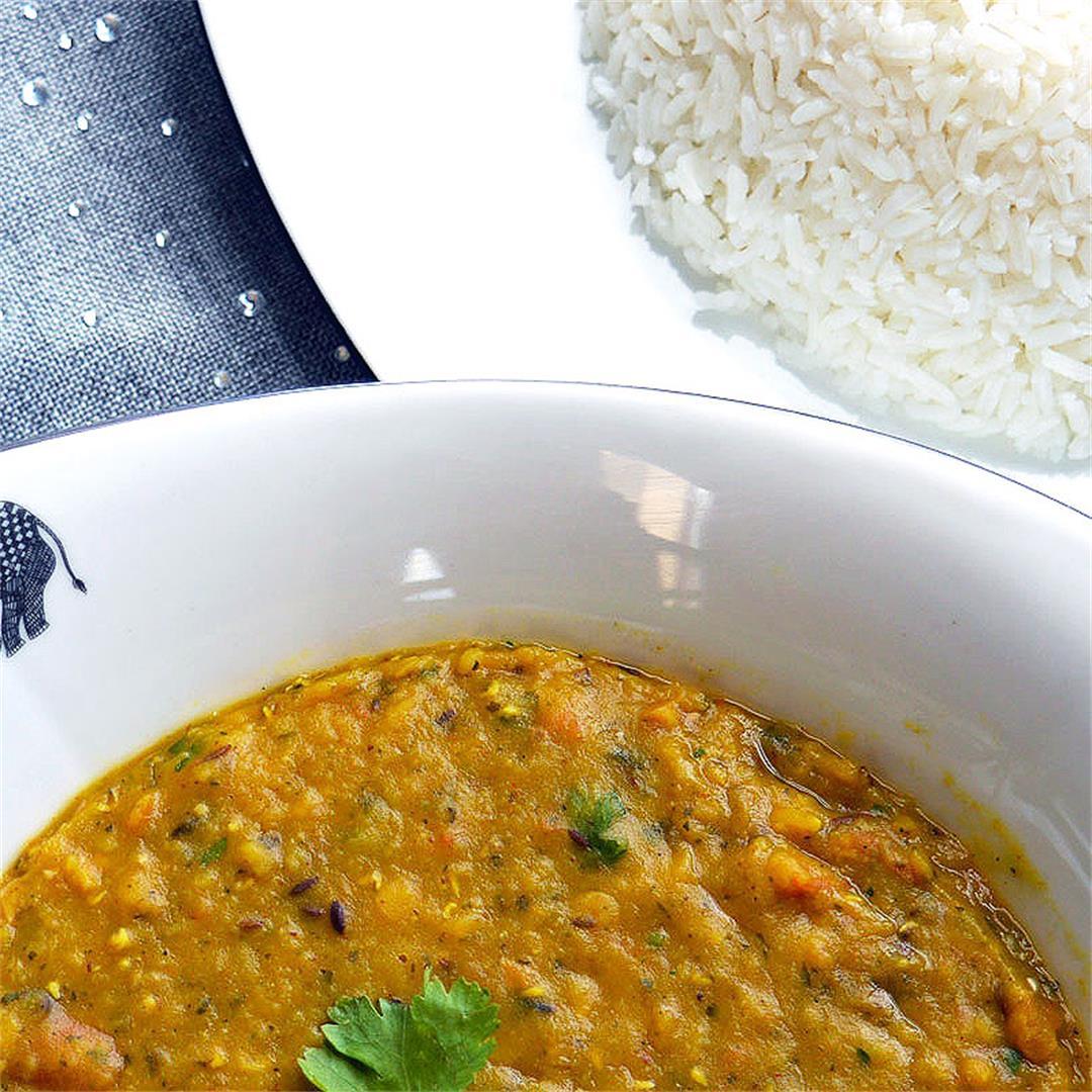 Creamy Indian Lentils - Dal Tadka