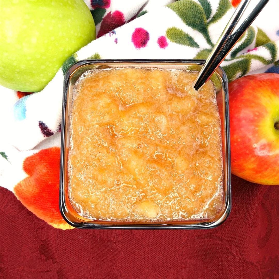 The Best Paleo Slow-Cooker Applesauce