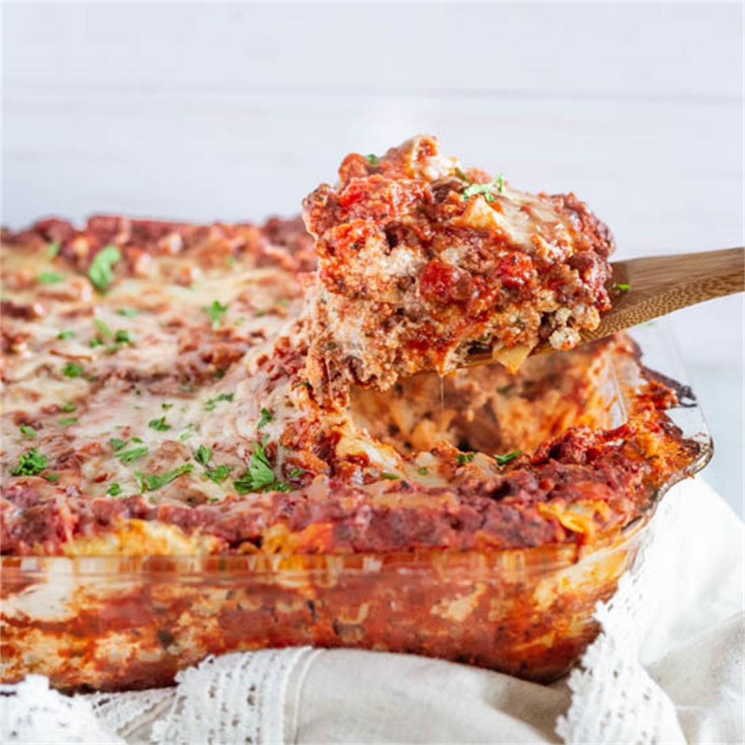 Sausage and Beef Lasagna