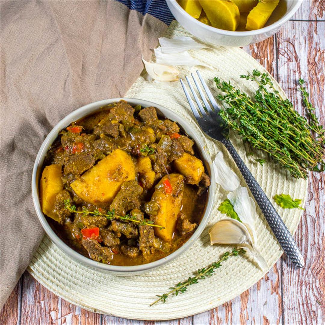 Jamaican beef curry