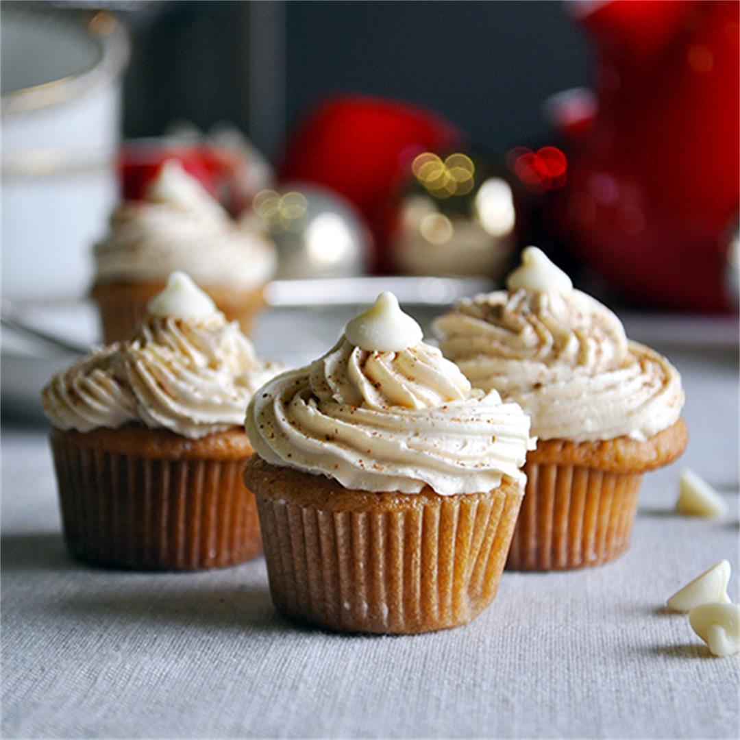Mini Chai Latte Cupcakes