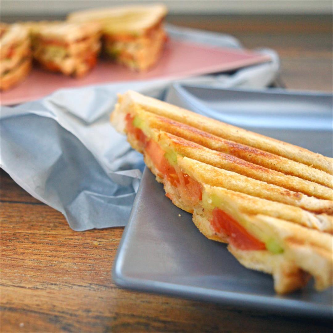 5-Minute Masala Sandwich