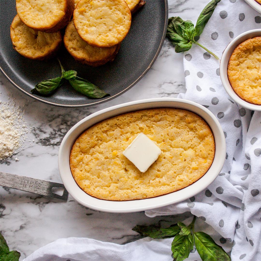 Light & Fluffy Corn Soufflé